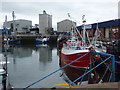 NS3031 : Troon harbour by Thomas Nugent
