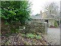 SE2340 : Disused stone stile at Owlet Grange by Stephen Craven