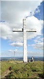 S0573 : Cross on Devil's Bit Mountain, Co Tipperary by Colin Park