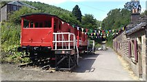 SK3155 : Foot of High Peak Tramway near Cromford by Colin Park