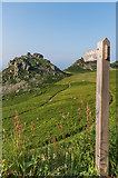SS7049 : Signpost to the White Lady by Ian Capper