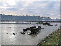 TM2850 : Melton: hulks in the mud by John Sutton