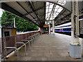 SS6593 : Cycle racks on Swansea railway station by Jaggery