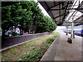 SS6593 : Disused platform on the west side of Swansea station by Jaggery