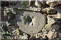 SO7944 : Millstone in a wall by Philip Halling