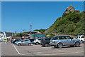 SS5247 : Pier car park by Ian Capper