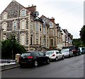 SS5146 : Distinctive houses on the east side of Station Road, Ilfracombe by Jaggery