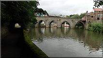 NZ2742 : Durham - R Wear & Elvet Bridge by Colin Park