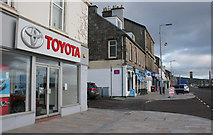 NS2982 : Businesses on Clyde Street West by Richard Sutcliffe