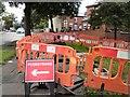 SJ9594 : Work on Dowson Road by Gerald England