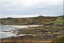 NJ1570 : Clashach Cove by Richard Webb