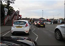 SK8508 : Watching the train at Oakham level crossing by Andrew Tatlow