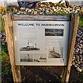 NH7068 : Welcome to Invergordon Plaque by valenta