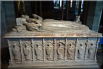 SO2956 : Memorial tomb of Thomas Vaughan and his wife Ellen Gethin by Philip Halling