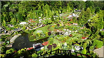 SX9265 : Babbacombe Model Village - general view across site by Colin Park