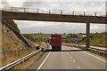 SH4174 : Minor Road Bridge over the North Wales Expressway by David Dixon
