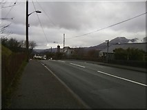 SH7042 : Dreary Ffestiniog on New Year's Day by Barry Hunter