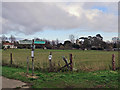 TL4355 : Grantchester: four-way fingerpost by John Sutton