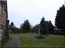 TQ0165 : Holy Trinity, Lyne: churchyard (II) by Basher Eyre