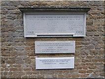 TQ0165 : Holy Trinity, Lyne: war memorial by Basher Eyre