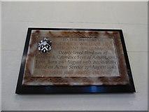 TQ0165 : Holy Trinity, Lyne: memorial (2) by Basher Eyre