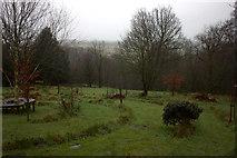 SD7217 : West Pennine Memorial Park pathway by Robert Eva