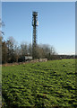 NS5474 : Communications tower by Richard Sutcliffe