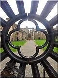 SM7525 : Wrought iron gate by Alan Hughes