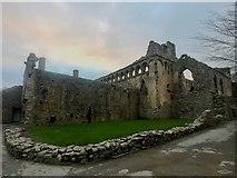 SM7525 : Bishop's Palace, St David's by Alan Hughes