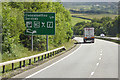 SH5869 : North Wales Expressway near Glasinfryn by David Dixon