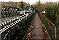 SO2416 : Footbridge on the north side of Glangrwyney Bridge, Glangrwyney by Jaggery