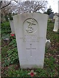 SZ7798 : SS Peter & Paul, West Wittering: CWGC grave by Basher Eyre