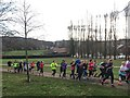 SK3390 : New Year's Day parkrun by Graham Hogg