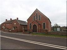 SJ5722 : Moreton Mill Methodist Church by John Lord