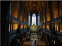 SJ3589 : Liverpool Anglican Cathedral - Lady Chapel by Colin Park