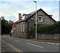SN9668 : Stone house, Wye View Terrace, Rhayader by Jaggery