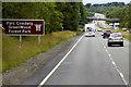 SH6170 : North Wales Expressway, Westbound near Tal-y-Bont by David Dixon