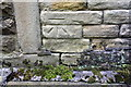 SE1425 : Benchmark on Bottom Hall Farm House by Roger Templeman