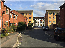 TQ3370 : Brunel Close, Upper Norwood, south London by Robin Stott