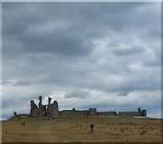 NU2521 : Dunstanburgh Castle in Northumberland by Mat Fascione