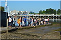 SX4653 : Queue for the Cremyll Ferry by N Chadwick
