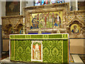 SX0152 : Holy Trinity church, St Austell, high altar and reredos by Stephen Craven