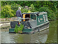 SJ9321 : Narrowboat Nell by Radford Bank near Stafford by Roger  Kidd