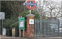 TQ4193 : The entrance to Buckhurst Hill Station by David Howard