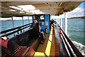 SH4561 : Aboard the 'Queen of the Sea' by Jeff Buck