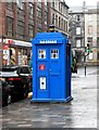 NS5965 : Police box, Wilson Street by Richard Sutcliffe