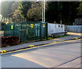 ST1490 : Electricity substation and gas installation near Llanbradach railway station by Jaggery