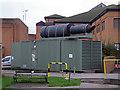 ST2124 : Musgrove Park Hospital - mobile emergency generator by Chris Allen