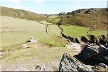 SX6937 : Soar Mill Cove  from Cathole Point, South Devon by Derek Voller