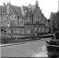 NT2473 : Edinburgh graffiti, Dean Path, 1969: I'D LOVE TO TURN YOU ON by Stefan Czapski